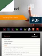 Catalogo de Cursos Dualpixel 2013