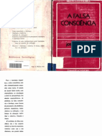 Joseph Gabel. A falsa consciência. Guimarães & Cia. Editores