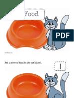 Cat Food Playdough Mat
