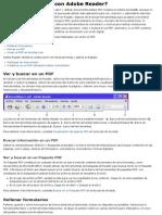 Ayuda de Adobe Reader 9