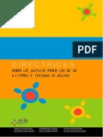 Directrices para la Justicia para Niños Victimas y Testigos de Delitos_ONU