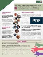 Reforma para fortalecer el combate y la prevención de la Discriminación