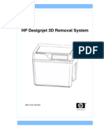 HP Designjet 3D Removal System (Service Guide)