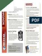 November 2013 Bulletin