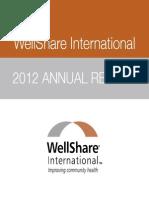 WellShare International 2012 Annual Report