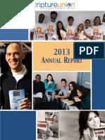 Scripture Union Annual Report 2012-2013