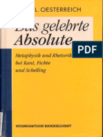 o Ester Reich Das Ge Lehrte Absolute