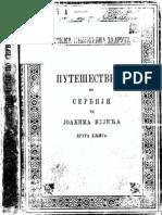 Joakim Vujic - Putesestvije Po Srbiji (1828) II
