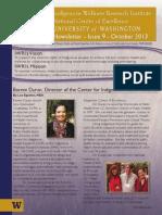 IWRI Newsletter Third Quarter 2013