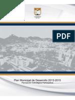 PlanMunicipaldeDesarrollo2013-2015Hermosillo