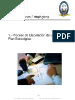 Diseño del Plan Estratégico - Etapas