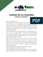 Fuentes, Carlos - Letania de La Orquidea