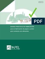 BUENAS PRÁCTICAS DE FABRICACIÓN para la fabricación de papel y cartón para contacto con alimentos