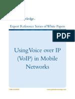 A-NetworkCommunication-VoIPinMobileNetworks