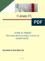 Comunicación Jornada TIC