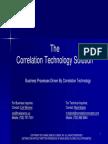 Business Process Enhancement Through Correlation Technology