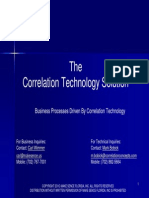 Business Process Enhancement Through Correlation Technology