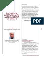 La Sociedad Contemporanea Ante El Dolor y La Muerte r Bayes 2