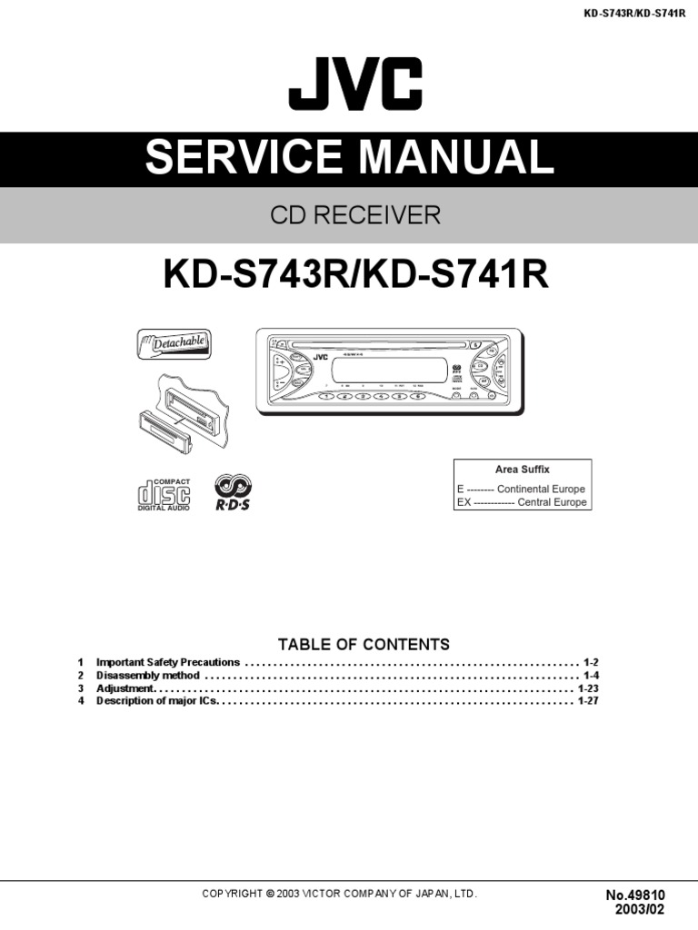 jvc kd s36 wiring diagram   25 wiring diagram images