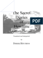 Secret Diaries of Hemiunu