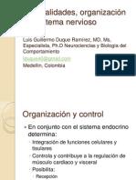 Generalidades, organización del sistema nervioso 2012-1