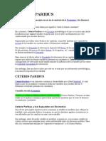 CETERIS PARIBUS.doc
