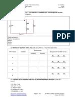 1º Examen de la 1ª Evaluación del Módulo de Instalaciones Eléctricas Básicas