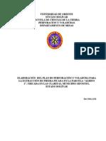Proyecto Perforacion y Voladura