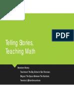 Telling Stories, Teaching Math