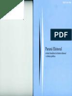 Revista Brasileira de Direito Eleitoral e Ciencia Politica