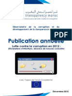 Corruption ;La Publication Annuelle 2012 de (TM)