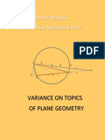 Variance on Topics of Plane Geometry