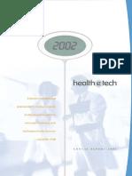 Health E Tech 2002 Annual Report