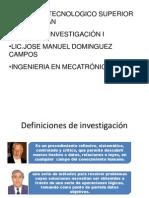 UNIDAD 1 TALLER DE INVESTIGACIÓN.pptx