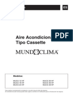 Manual Casette MUCS HF