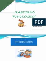 trastorno fonológico