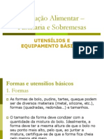 Utensilios e Equipamento_basicos