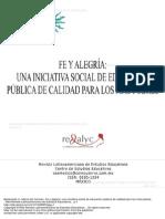 Fe y Alegr a Una Iniciativa Social de Educaci n p Blica de Calidad Para Los m s Pobres 1 to 17