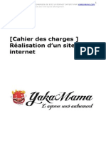Exemple Cahier Des Charges YakaMama Com(1)