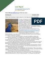 PA Environment Digest Nov. 4, 2013