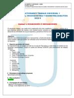 Actividad 01 - ALGETRIGO