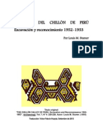 "EL VALLE DEL CHILLÓN DE PERÚ Excavación y reconocimiento 1952-1953 / ""THE CHILLÓN VALLEY OF PERU. Excavation and Reconnaissance 1952-1953"""