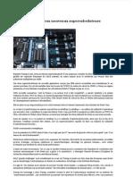 La France lance deux nouveaux supercalculateurs - Libération