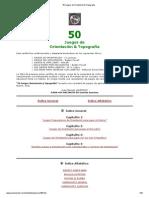 50 Juegos de Orientación & Topografía