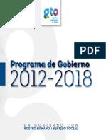Programa de Gobierno 2012-2018 Gto