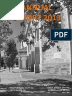UPBC Annual Report 2013