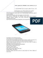 THL W200 5.0Ecran Tactile Capacitif IPS MTK6589T 4-Core Android 4.2.1 3G Smartphone