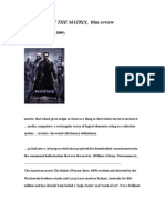 Matrix Film Review.wps
