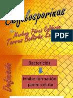 1 Cefalosporinas