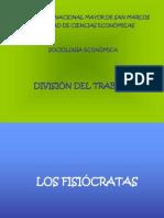 Sociologia económica-división del trabajo